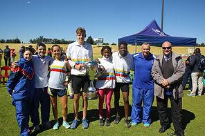 Northcliff High A League Inter-High Athletics Winners