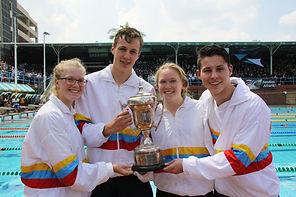 Northcliff High A League Inter-High Swimming Winners