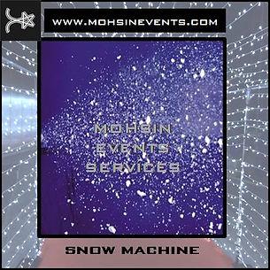 snow machine rental in dubai