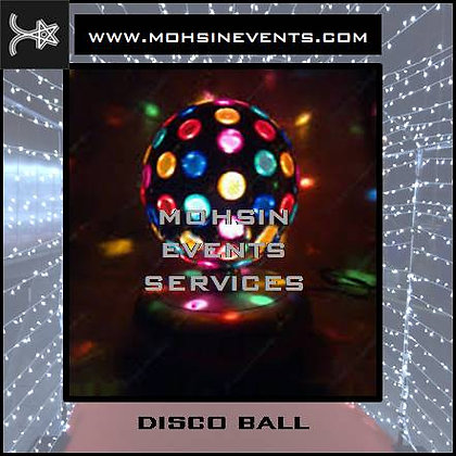 Disco Party Package Silver