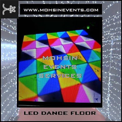 LED Dance Floor with Disco Package