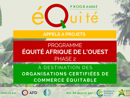 Organisations certifiées équitables en Afrique de l'Ouest : répondez aux appels à projets !