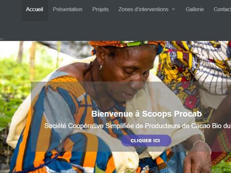 Retrouvez la coopérative togolaise SCOOPS PROCAB sur le web !