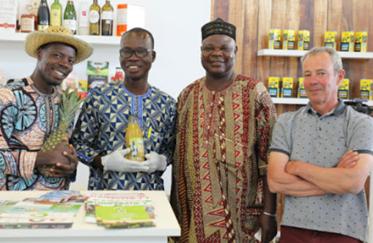 Bénin : le RéPAB intensifie sa production agroécologique d'ananas