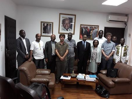 La SCEB rencontre le Ministère ivoirien de l'agriculture et du développement rural