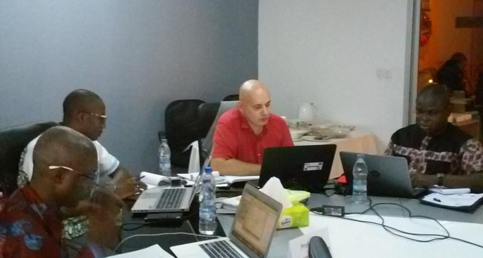 Yves Yao, Mohammed Attanda, Christophe Boscher et Mr Rostaing