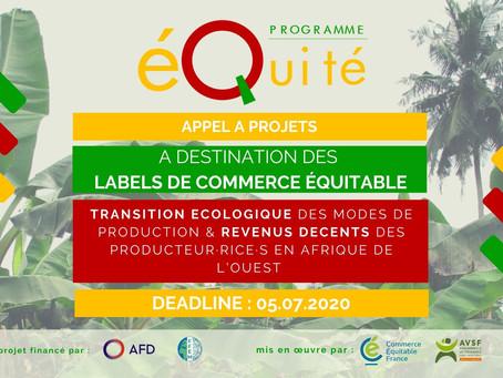 Un appel à projets pour accompagner l'action des labels de commerce équitable en Afrique de l'Ouest
