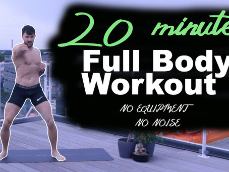#1 | 20-Minute Full Body At-Home Workout | No Equipment, No Noise