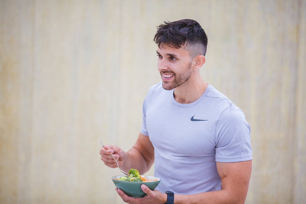 about my vegan personal trainer