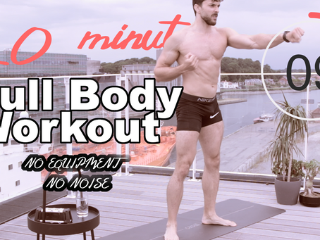 #2 | 20-Minute Full Body At-Home Workout | No Equipment, No Noise