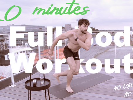 #3 | 20-Minute Full Body At-Home Workout | No Equipment, No Noise