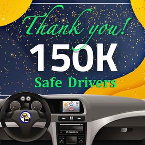 150K+ Safe Drivers
