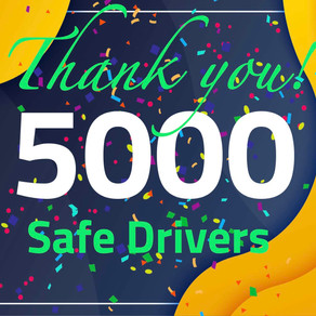 5,000+ Safe Drivers