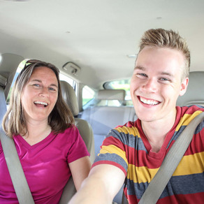 How I Survived Teaching my Teenager to Drive