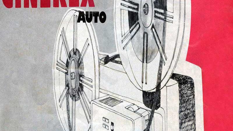 Cinerex 707 Instruction Book - Physical Copy