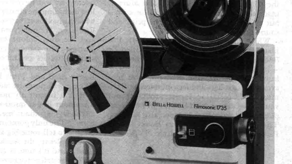 Bell & Howell Filmosonic 1735 Test Report
