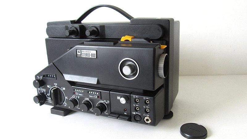 Sankyo Stereo 800 - Super 8mm Sound Cine Projector