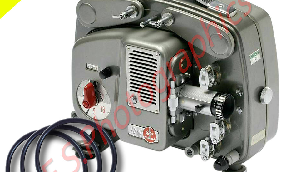 Bolex 18-5 Motor Belts x 3
