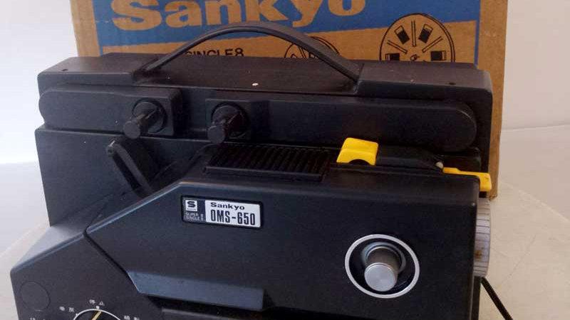 Sankyo OMS-650 - Super 8mm Optical & Magnetic Sound Cine Projector