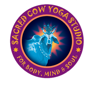Sared Cow Yoga Studio Logo