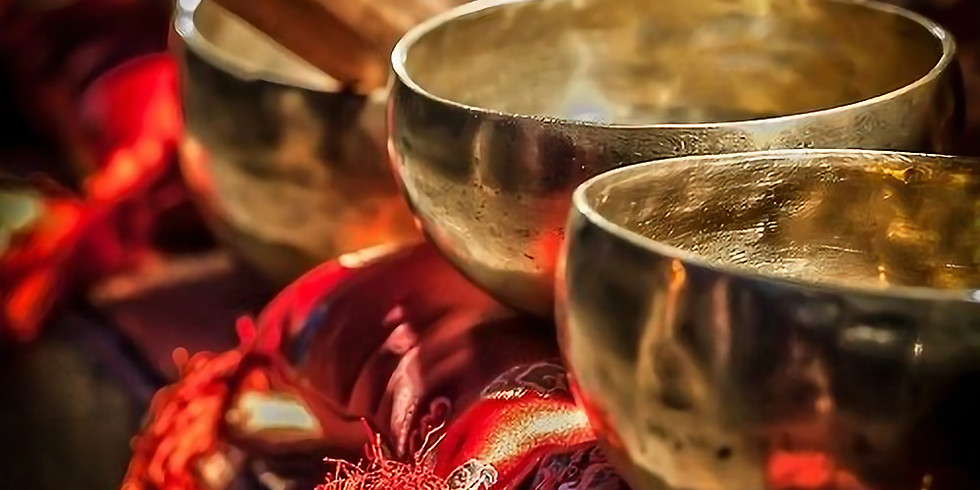 SOUND BATH HEALING & MEDITATION WITH TIBETAN SINGING BOWLS