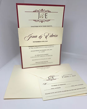 Hand Made Invitations
