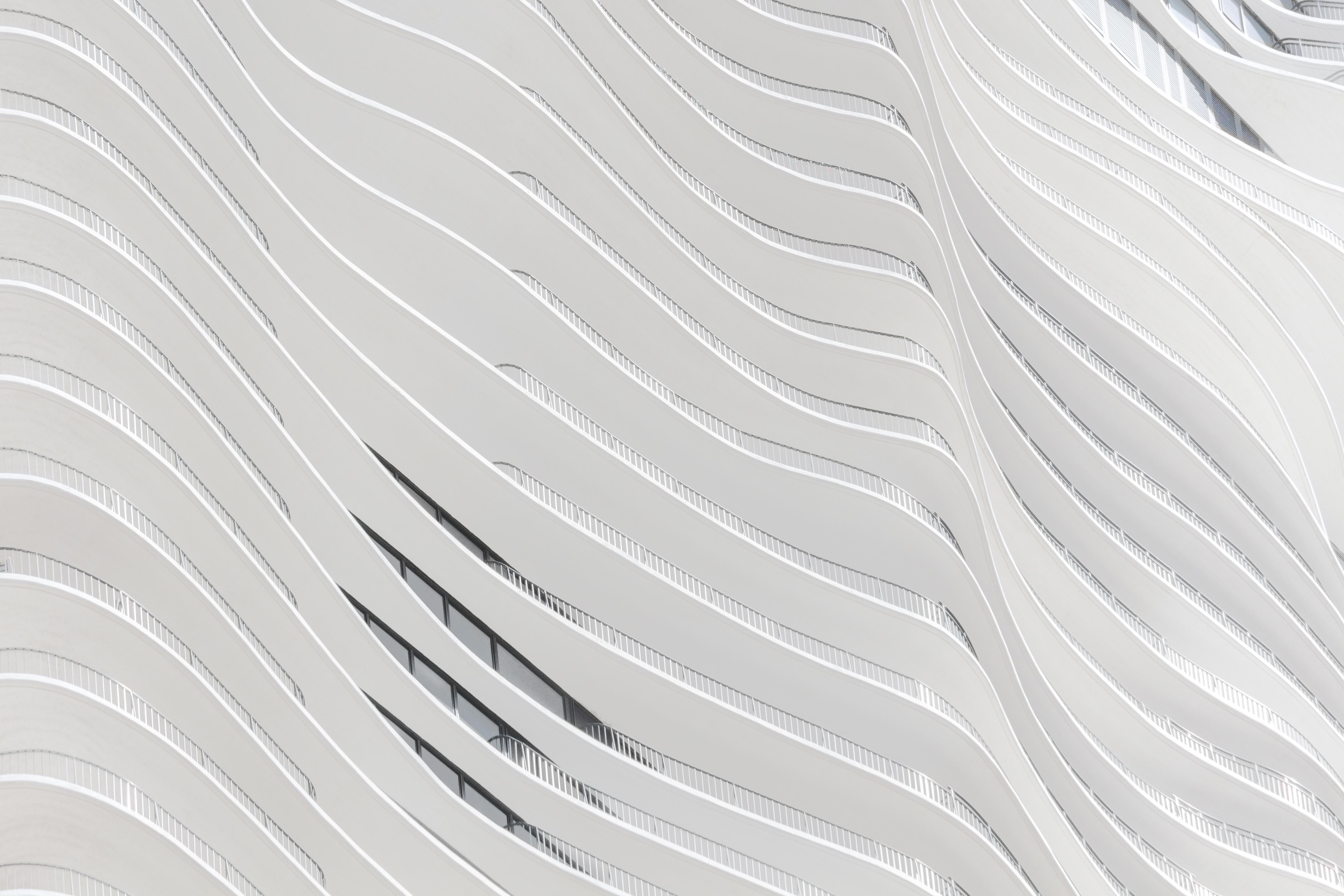Abstraktes Gebäude