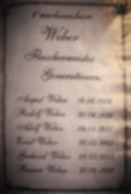 Fleischermeister Weber Generationen