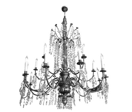 FRENCH CATHEDRAL CHANDELIER