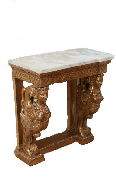GOLD GILT CONSOLE