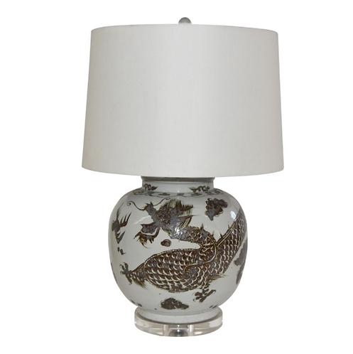 ASIAN MOTIF LAMPS