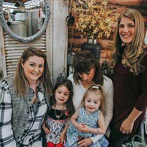 Jennifer, Heather, Kourtnie, and the girls