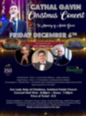 Cathal Gavin Christmas Concert 2019