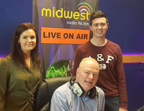 Cathal Gavin, Donna Malone & Tommy Marren