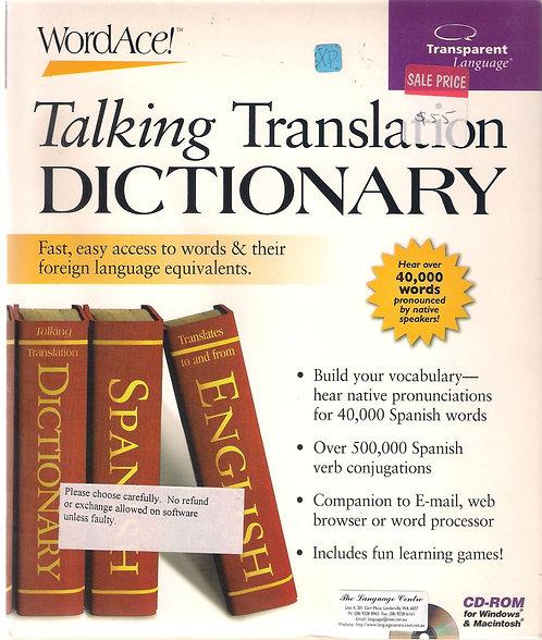 WordAce!  Talking Translation Dictionary