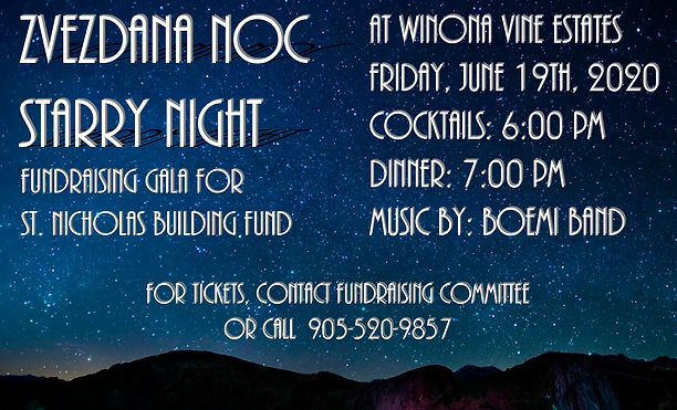 Church - Gala - Starry Night - June 19 (
