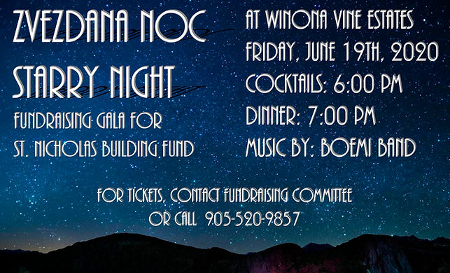 Church - Gala - Starry Night - June 19 (