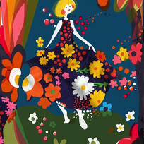 Delta Dawn...._#textiledesign #digitalpa