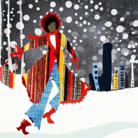 Snow storm with style. #cecibowmandesign