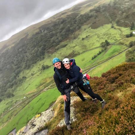 Rock Climbing and Navigation Training