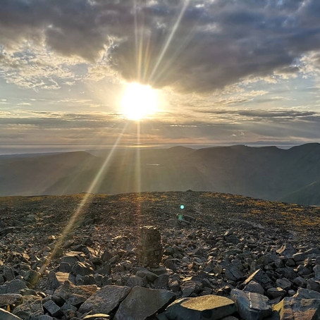 Scafell Pike for Sunset