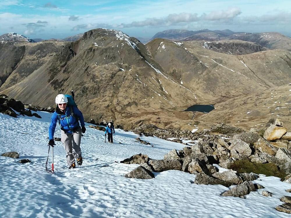 Lake District Winter Skills 2 Days I Lakeland Mountain Guides