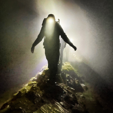Striding Edge by Torchlight