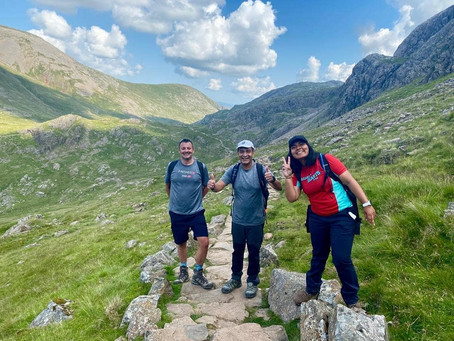 Scafell Pike Guided walk