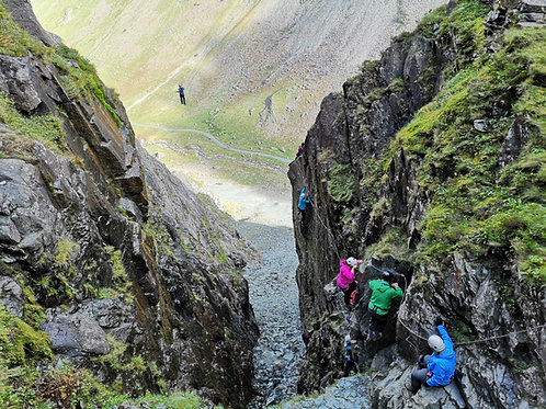 Via Ferrata Extreme I Lake District I Lakeland Mountain Guides