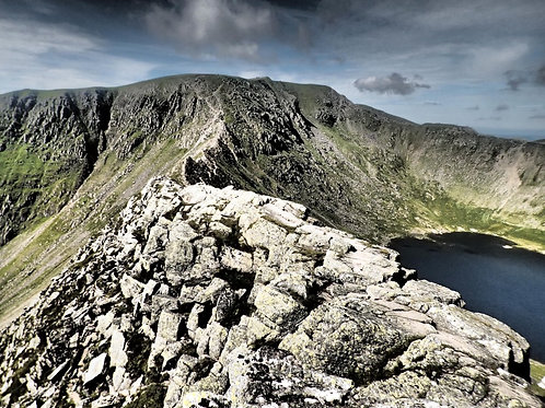 Helvellyn & Striding Edge Day Walk I Lakeland Mountain Guides