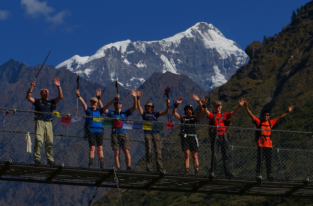 On the Manaslu Circuit