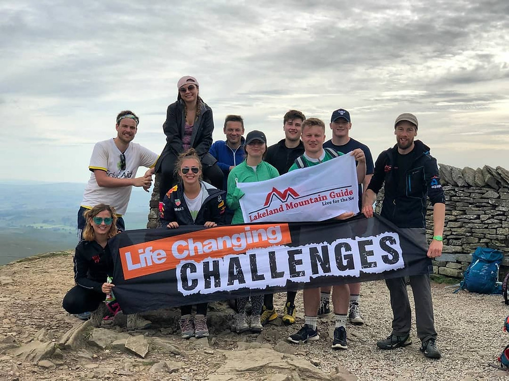 The Yorkshire 3 Peaks Challenge
