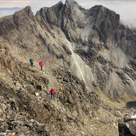 Cuillin Ridge Scrambling