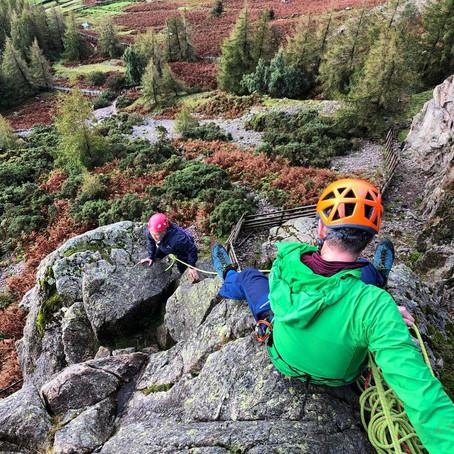 Rock climbing skills day